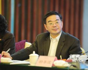 Zhou Qiang listening to Hunan provincial people's congress delegates, 2011
